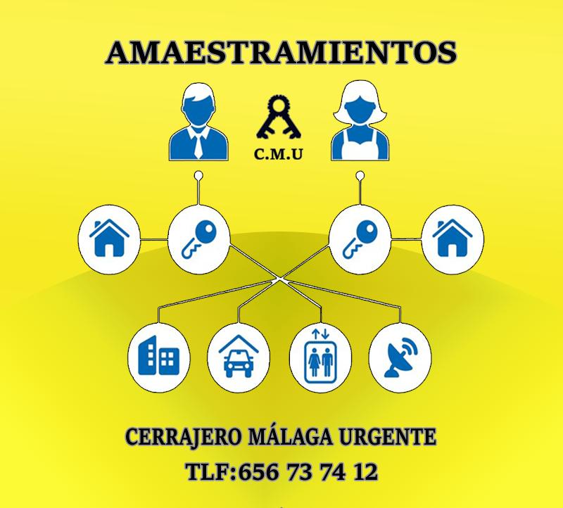 amaestramientos-Cerrajero Málaga Urgente