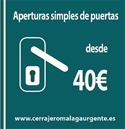 Cerrajero Málaga Urgente-Apertura de puertas